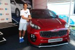 Kia Ambassador Rafael Nadal and the all new Kia Sportage.